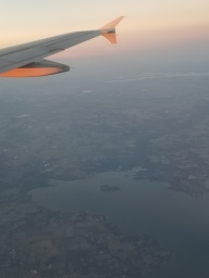 Spotted a heart in the lake from the airplane
