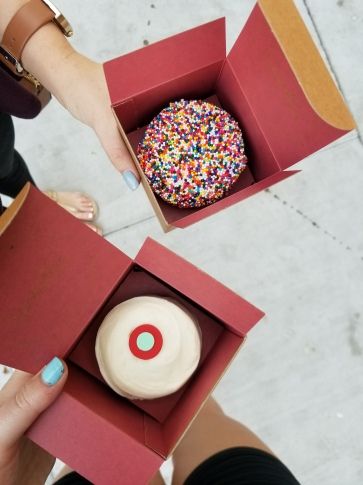 Our Sprinkles cupcakes