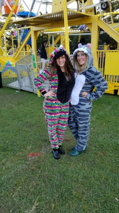 Onesies were perfect for the chilly NOLA weather