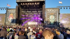 The main stage at Voodoo
