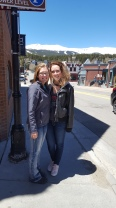May, on our class trip in Breckenridge, CO