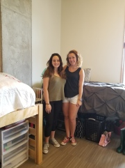 August, move in day