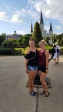 November, when my sister visited in New Orleans