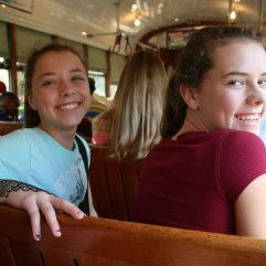 Streetcar rides, classic New Orleans