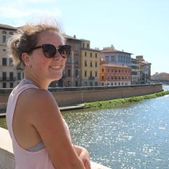The Arno in Pisa