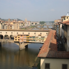 The Arno in Florence