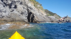 Kayaking in Vernazza