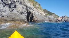 Kayaking in Vernazza