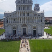 The view from the baptistry