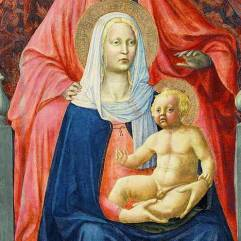 One of my favorite examples of strange Renaissance baby Jesus