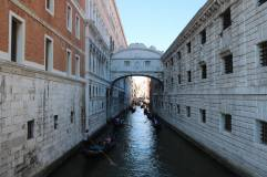 A passageway over the water