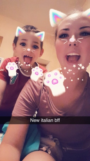 Alessio loved the filters