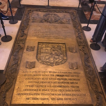Columbus's son's grave