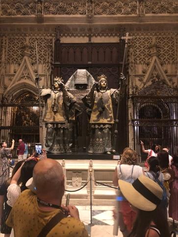 Columbus's grave