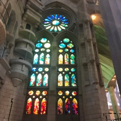 I could not get over all the stained glass here