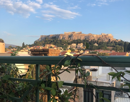 Not a bad view for our last night in Athens